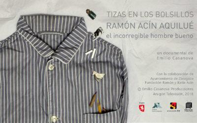 «Tizas en los bolsillos», sobre Ramón Acín, se estrena esta semana