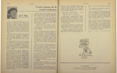 Alaiz y Huesca en cuatro etapas