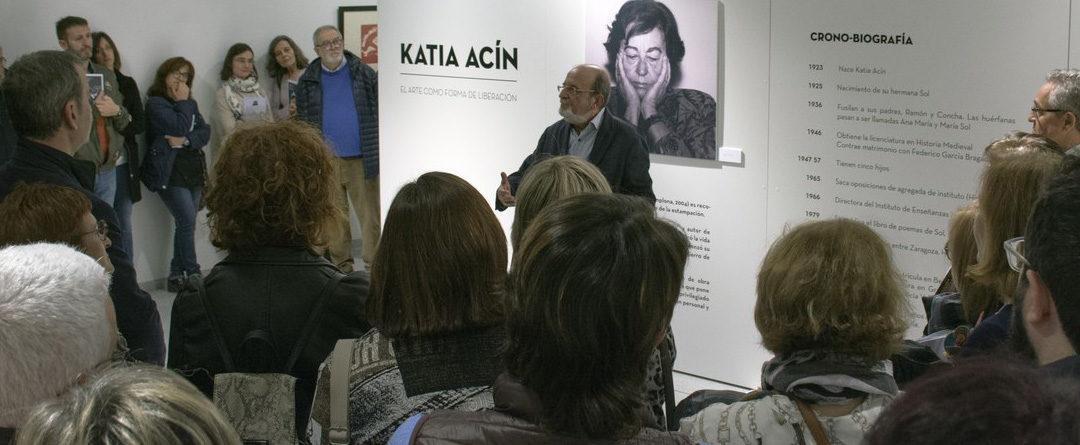 Katia Acín en Binéfar. La exposición virtual