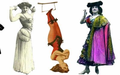 Acín, Bonafoux, circo y coristas