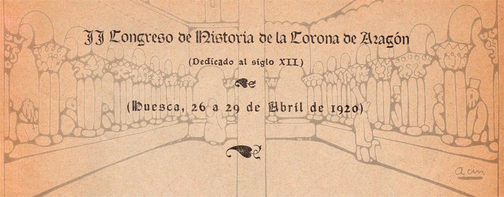 El II Congreso de la Historia de la Corona de Aragón de 1920