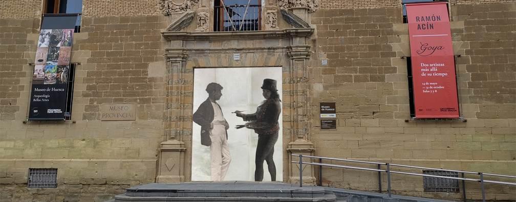 Acín y Goya juntos en el Museo de Huesca